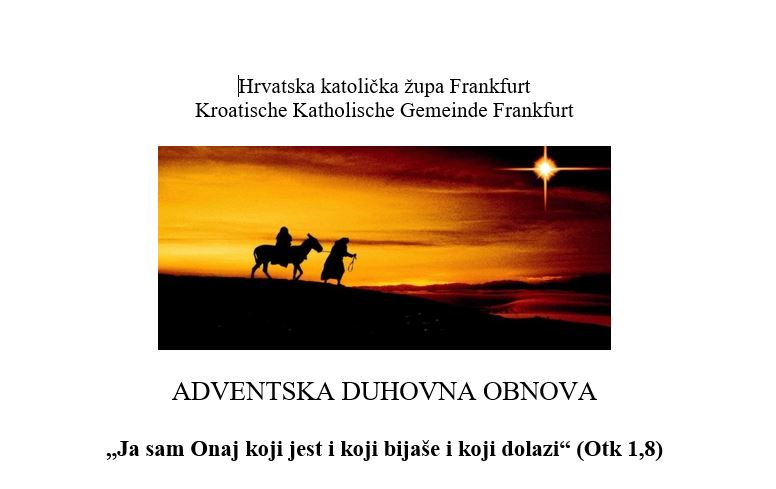Advent 2019 duhovna obnona